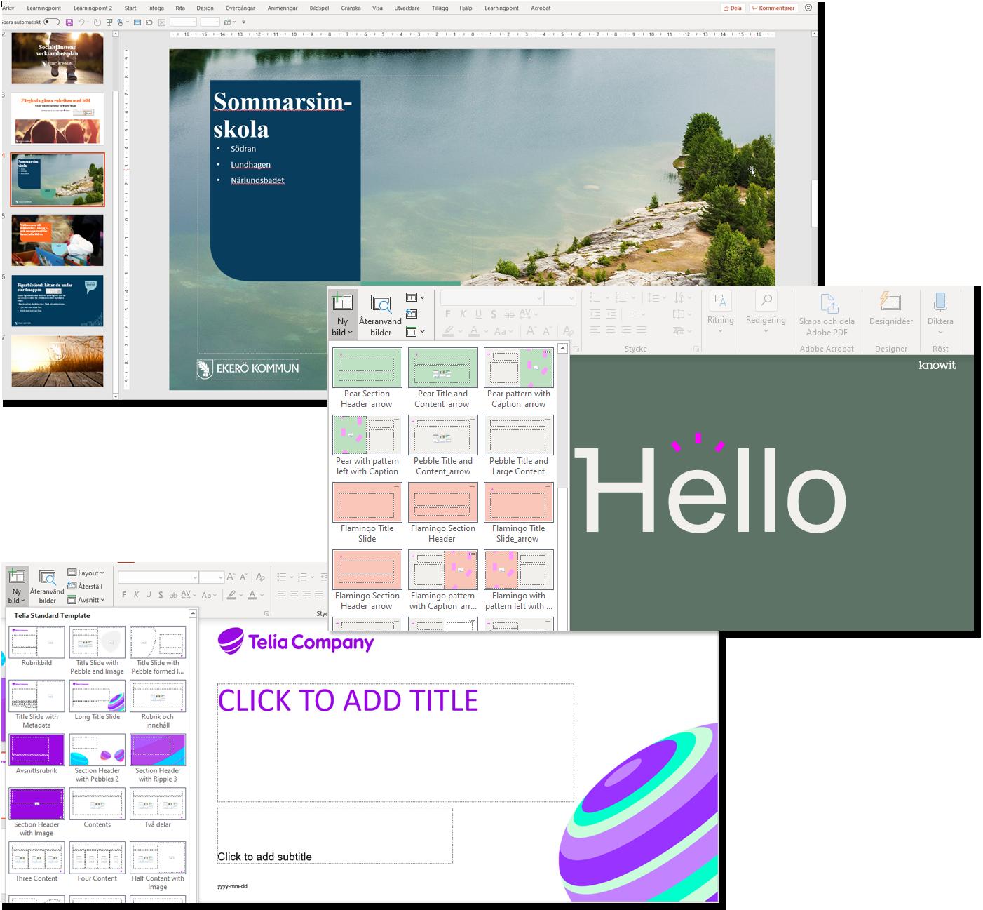 Powerpointmallar_Learningpoint